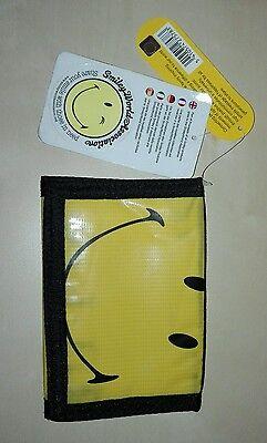 Portafoglio Smile Faccina Whats App Borsello Wallet Nuovo Con Cartellino Materiale Selezionato