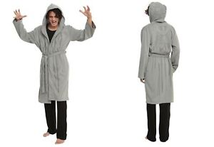 DR-DOCTOR-WHO-WEEPING-ANGEL-BATH-ROBE-COSPLAY-COSTUME-DRESS-UP-WARM-MENS-SZ-L-XL