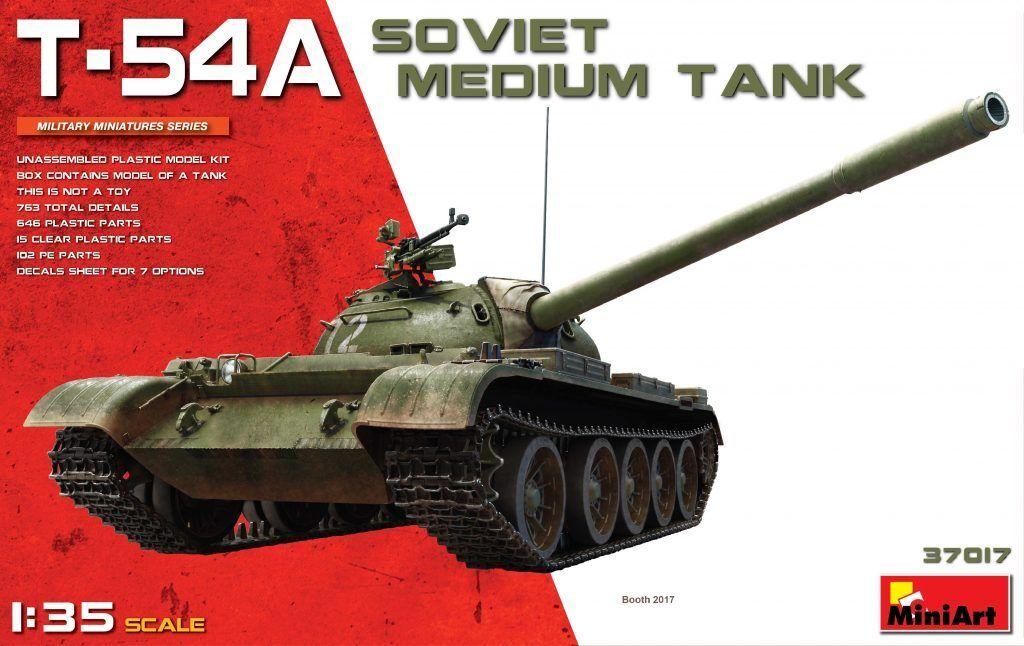 Miniart 1 35 T-54A Soviet Medium Tank