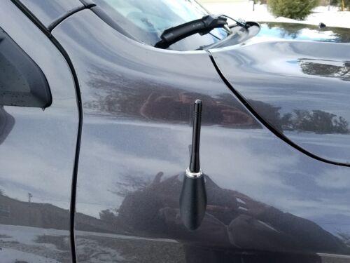 "**SHORT**  4/"" BLACK ALUMINUM ANTENNA MAST FITS 2001-2005 Dodge Stratus Coupe"