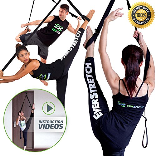 Get More Flexible with The Door Flexibility Trainer EverStretch Leg Stretcher
