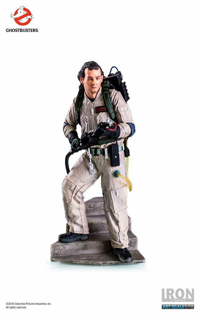 Peter Venkuomo Art Scale 110  Ghostautobusters Iron Studios Sidemostrare