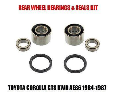 Rear Wheel Bearing/Seal Set Toyota Corolla GTS AE86 RWD 84-87 Left & Right