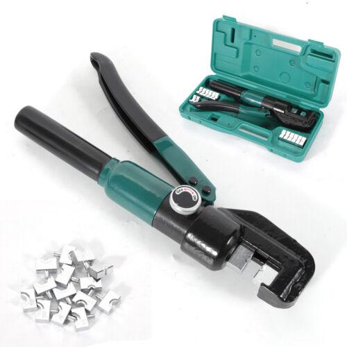 5T Hydraulische Presszange Crimpzange 4-70mm² Kabelschuhe Zange kabel werkzeug