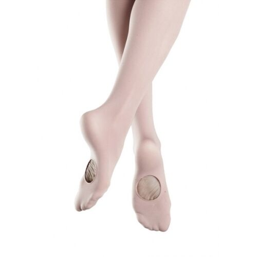 REGULARLY $13 NWTT0935 Girls Bloch Endura Convertible Ballet Tights NOW $9.90