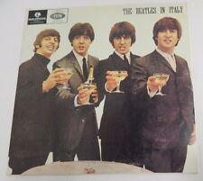 Parlophone (Black & Silver Label) THE BEATLES IN ITALY Vintage Vinyl Record