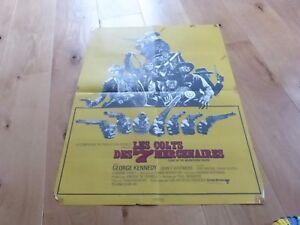 Wendkos-Kennedy-Cartel-Poster-Colts-Des-7-Mercenarios-60X80