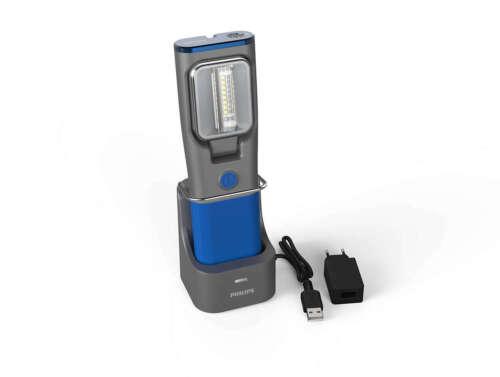 LAMPADA torcia ispezione officina garage Philips LED Inspection RCH31 Ultraviole