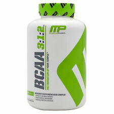 MusclePharm MP BCAA 3:1:2 Amino Acid Complex Lean Muscle Growth 240 Capsules
