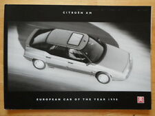 CITROEN XM Saloon range 1990 UK Market sales brochure