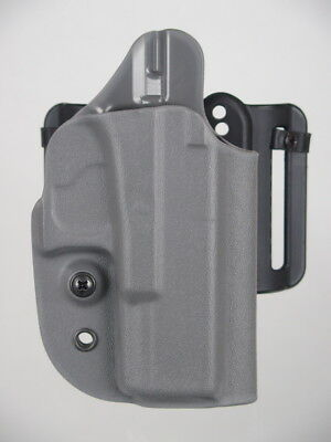 G-Code OSH RTI Compact Modular RMR Cut Kydex Holster for Glock 19 23 32 Black