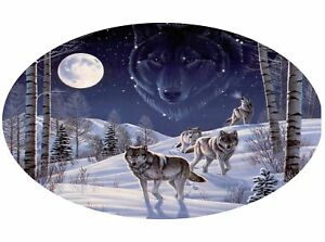 Motor-home-Caravan-Camper-Horse-box-Wolves-Wolf-Stickers-Decal-Graphic-mh1-4