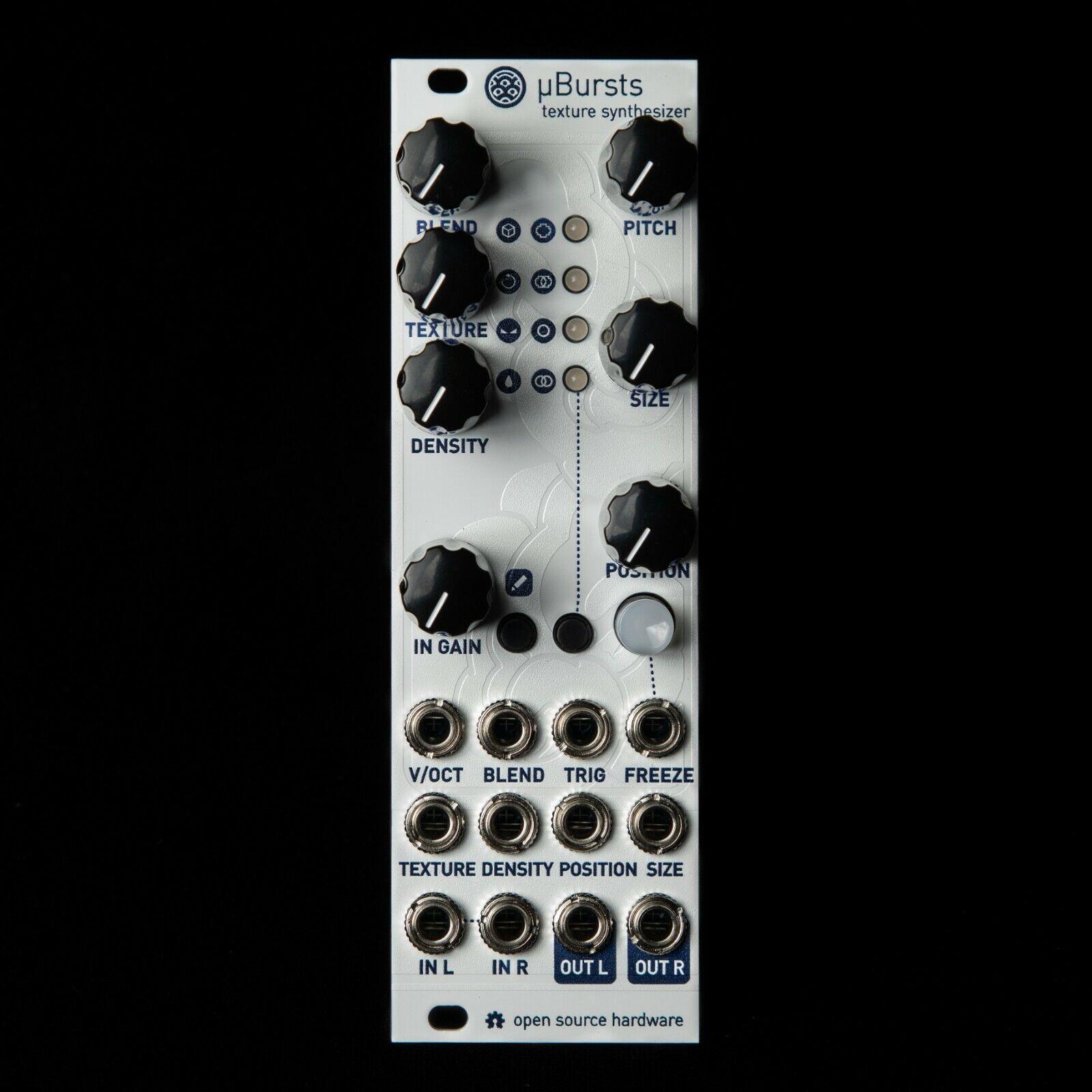 UBurst Micro Mutable Instruments Clouds Eurorack Synth Module (Weiß Texturot)