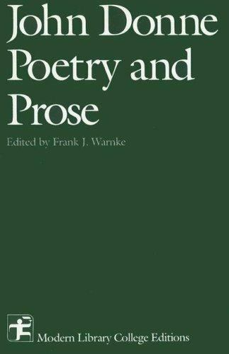 John Donne : Poetry and Prose-ExLibrary