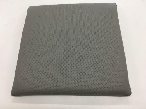 Lederpolster Sitzkissen Stuhlkissen echt Leder perforiert 38x38x3 cm rutschfest