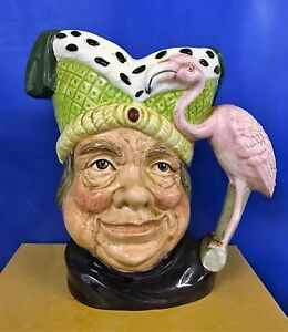 LARGE-ROYAL-DOULTON-CHARACTER-JUG-UGLY-DUTCHESS-D6599-EXCELLENT