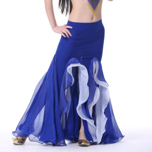 9 Colours Mermaid Carnival Skirt Package Hip Skirt Costume Belly Dance Skirt