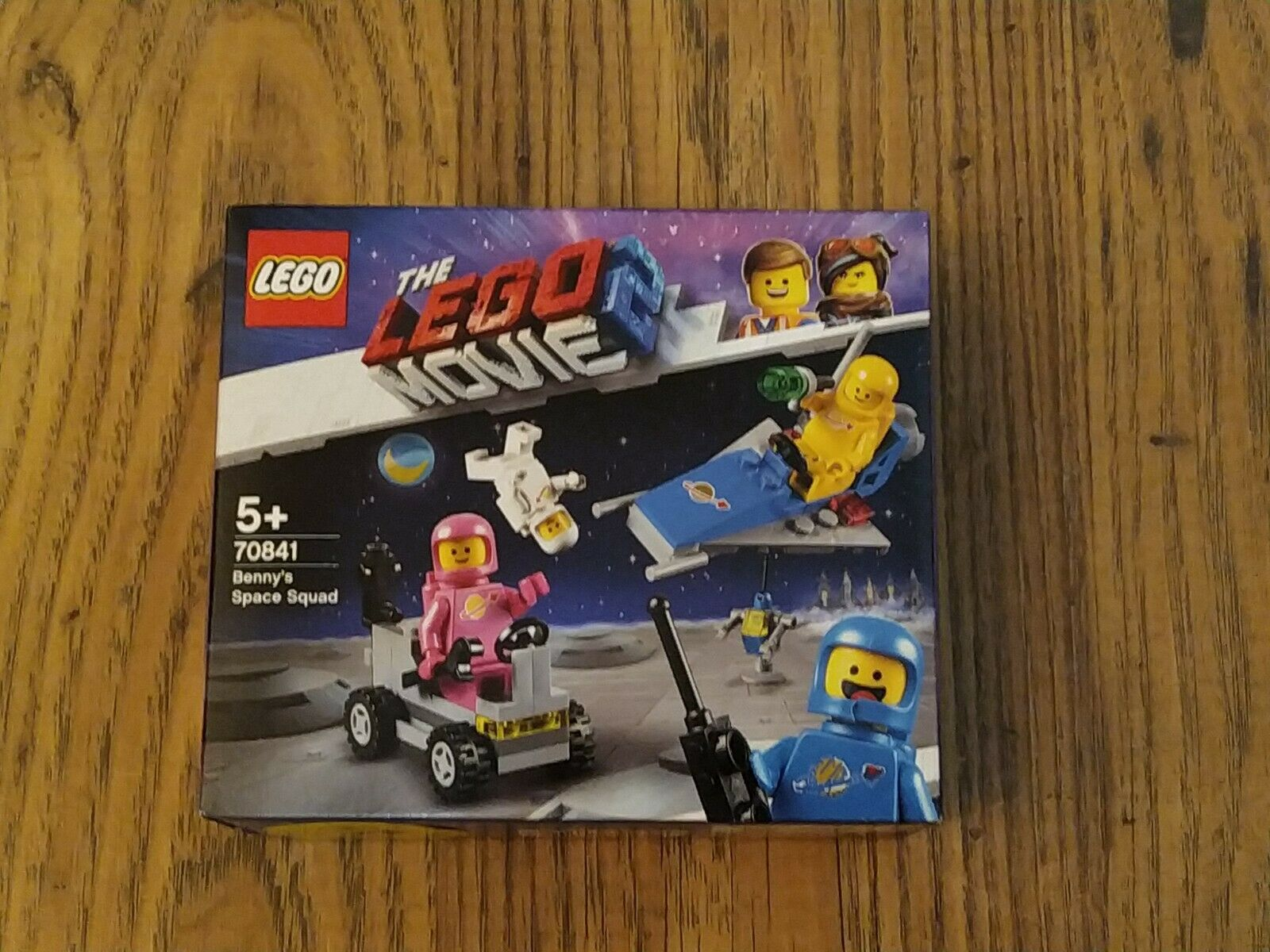 Lego Benny/'s Space Squad 70841 lego movie 2 BNIB SEALED space men Ready To Ship