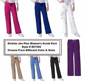 4882ea86926 Dickies women Gen Flex Scrubs 857455P PETITE Cargo Pant Pick Size ...