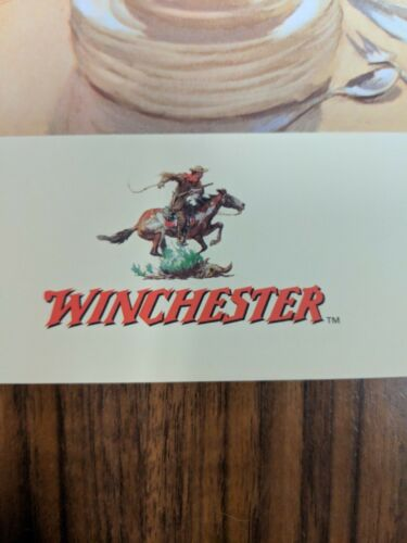 Winchester duck hunting advertising print 24x18 mint