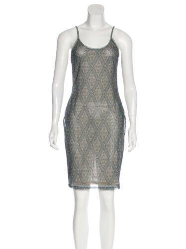 Zimmermann Green Slip Dress