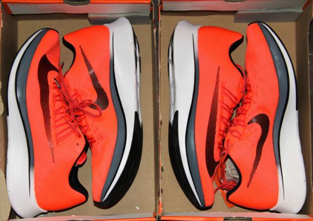 002b1e9c56f2 Nike Zoom Fly Men s Breaking2 Bright Crimson Black-Blue 880848-614 Running  Shoes