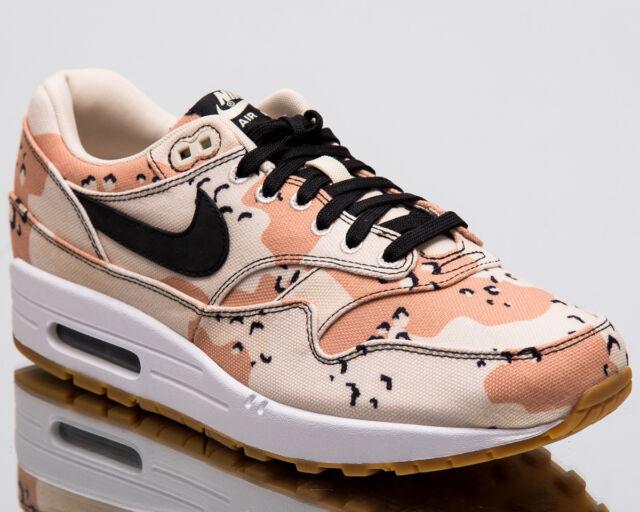 half off 5c0d4 f4263 Nike Air Max 1 Premium Desert Camo Men New Beach Lifestyle Sneakers 875844- 204