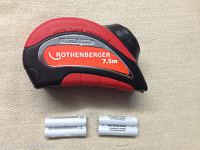 Rothenberger Automatic powered Tape Measure 7.5m 19764