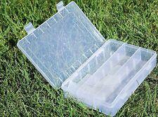 scatola poly 3 scomparti 8 divisori mobili trasparente porta minuteria pesc SP