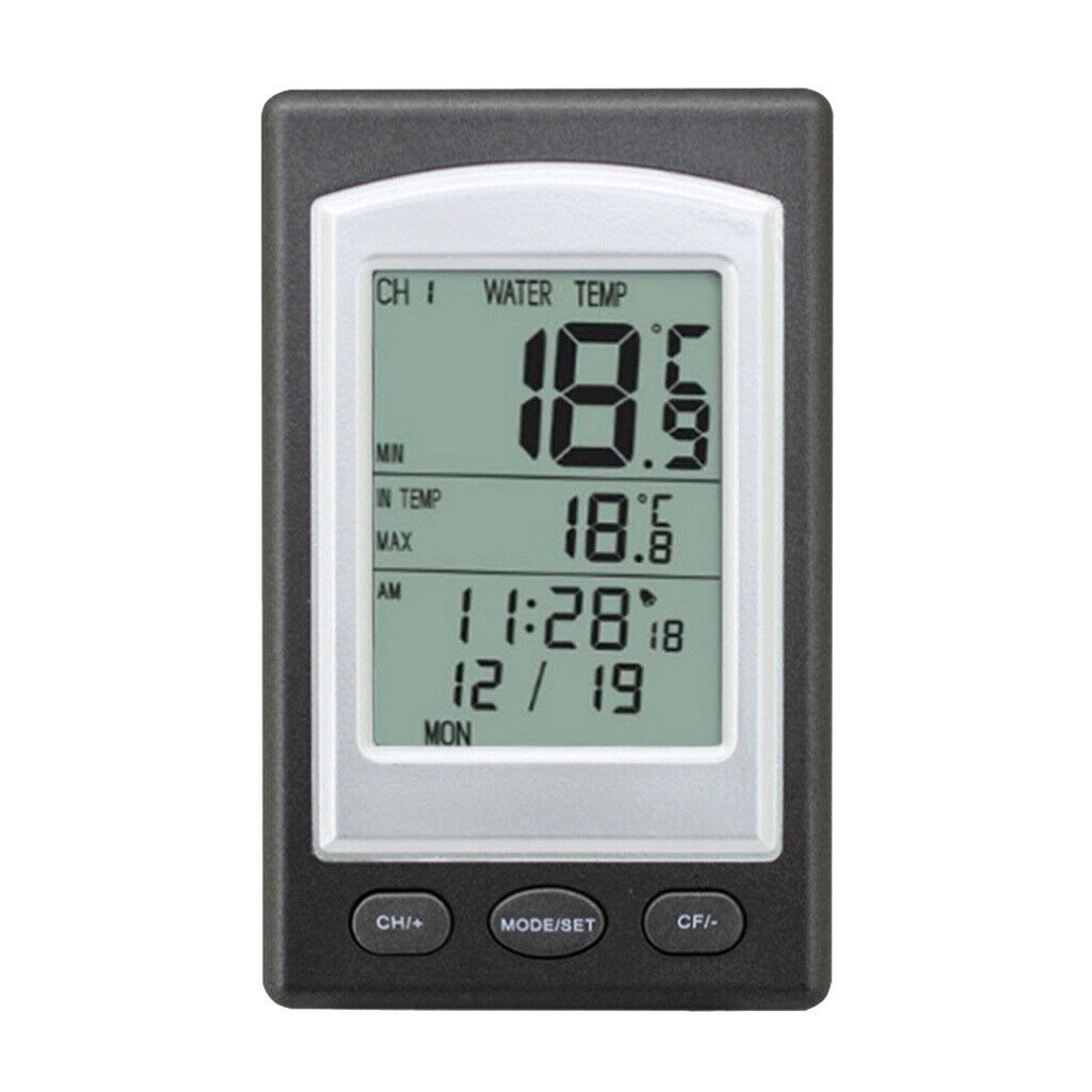 Wireless Digital Floating Swimming Pool Thermometer Water Spa Temperature