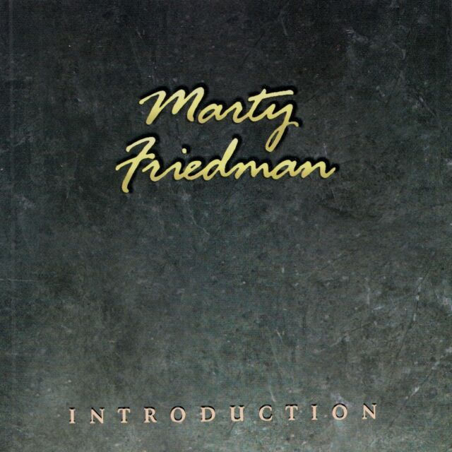 MARTY FRIEDMAN : INTRODUCTION / CD - TOP-ZUSTAND