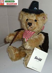 Steiff Teddy Ean 656606 Numéro de collection 00166 / Nouveau bärgsteiger