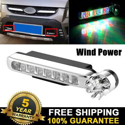 Automatic Wind Power 8 LED Car Light Daytime Bike Motorcycle Daylight 2020