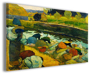 Quadri famosi Paul Gauguin vol XIII Stampa su tela arredo moderno ...