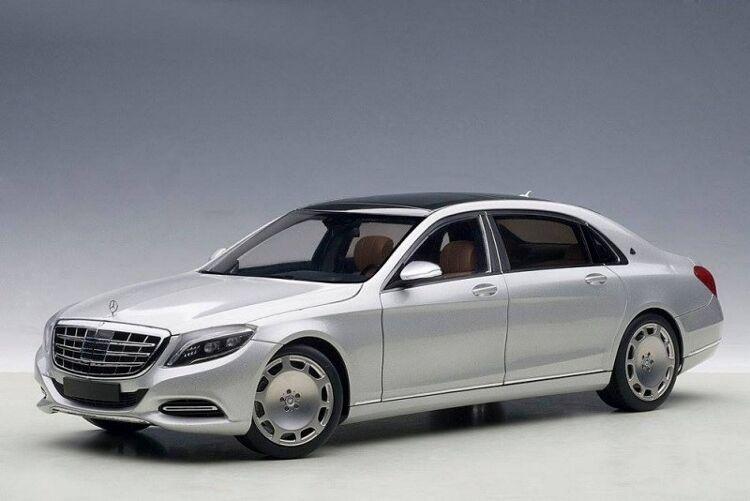 están haciendo actividades de descuento Mercedes-Maybach clase S (s600) 1 1 1 18 plata Autoart  precioso