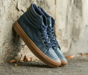 Details about VANS SK8-HI Reissue Zip Hiking Skate Hight Top Sneakers Shoes Navy Gum Men's 8