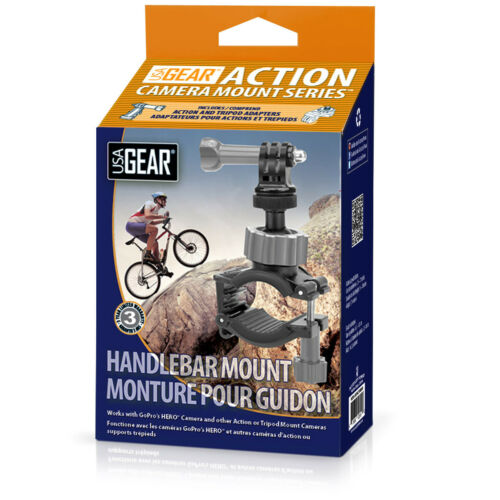 Drift Ghost Action Cam Handlebar Mount for GoPro Hero4 Ion Air /& More Cameras