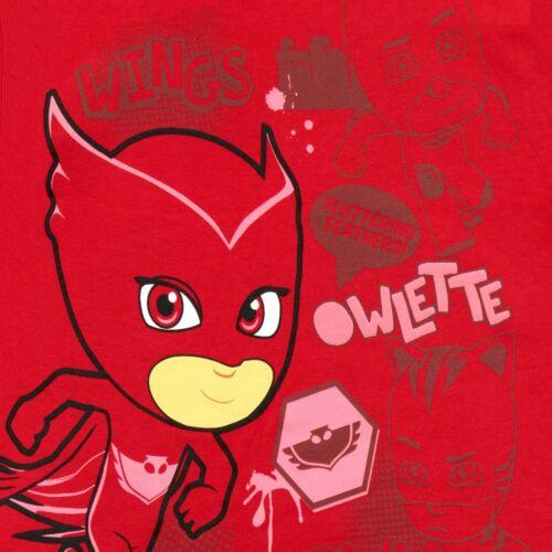PJ Masks T-ShirtBoys PJ Masks Owlette TeeKids PJ Masks Short Sleeve Top