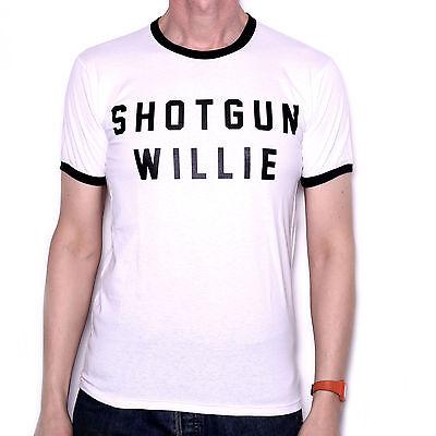 Comme porté par Willie Nelson T SHIRT-fusil de chasse Willie lettres country /& western