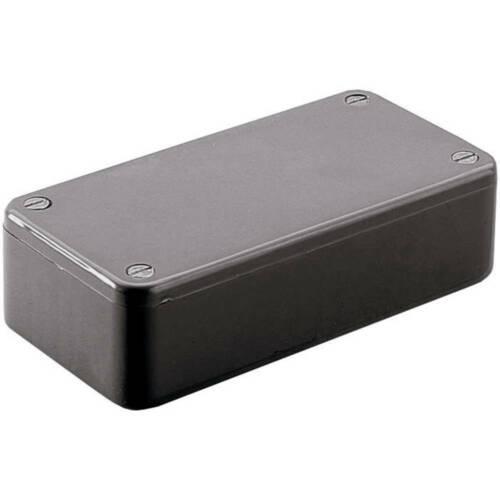Hammond Electronics 1591CBK Euro-Gehäuse 121.44 x 66.94 x 37.25 ABS Schwarz 1