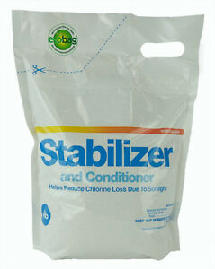 Cyanuric acid stabilizer conditioner for swimming pool - What is swimming pool conditioner ...