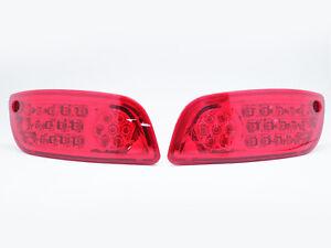 LED-Rear-Bumper-Reflector-Light-For-07-08-09-10-Hyundai-Santa-Fe-Red-Lens