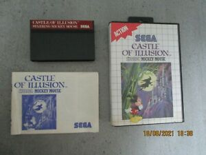 mickey / castle of illusion / complet / master system / SEGA