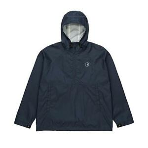 POLAR-SKATE-CO-RIPSTOP-ANORAK-JACKET-NAVY