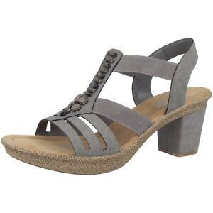 Rieker 44294 Daphne 94 Granit Schuhe Mit Absatz Damen