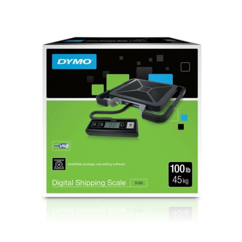 DYMO Digital Shipping Scale 100-Pound Standard Packaging