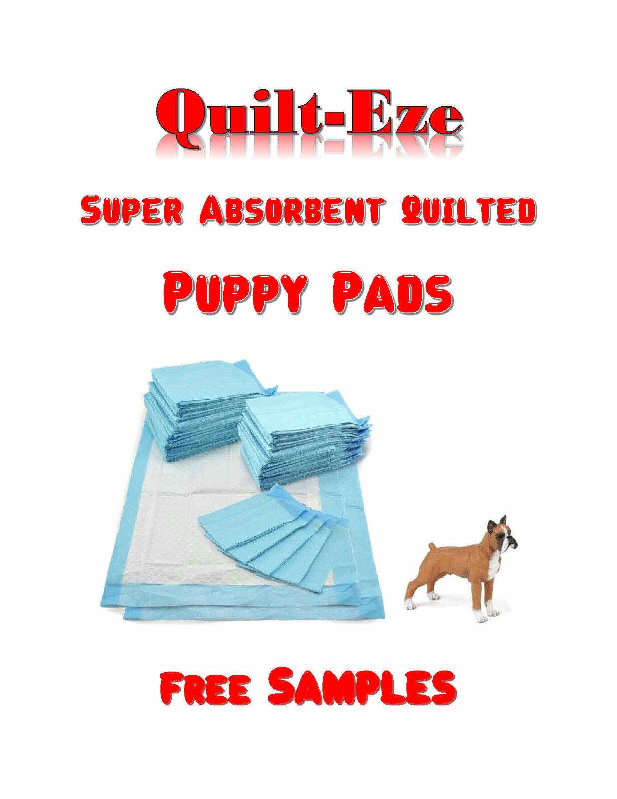 300-Quilt-Eze Super Absorbent Puppy Training Pee Pads 17x24   s BEST