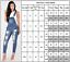 Womens Dungarees Jumpsuit Romper Playsuit Shorts Long Baggy Harem Trousers Pants