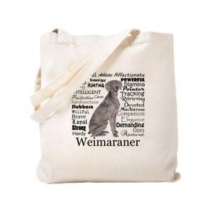 2f0e02e3973 Details about CafePress Weimaraner Traits Tote Bag (1312817838)