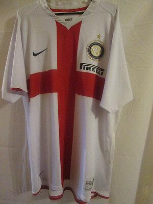 Inter Milan 2007-2008 Centenary Away Football Shirt Size Extra Large /13267 | eBay